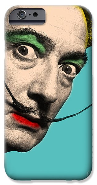 Recently Sold -  - Animation iPhone Cases - Salvador Dali iPhone Case by Mark Ashkenazi
