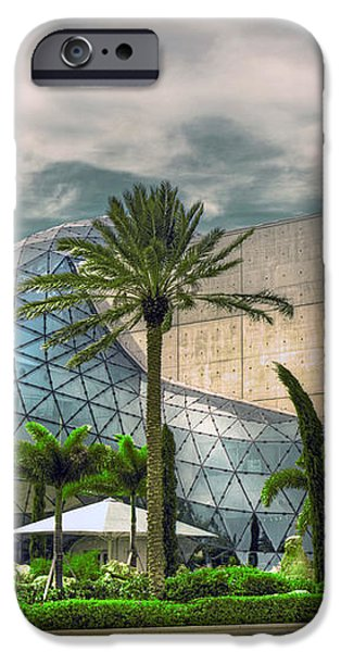 Salvador Dali Museum iPhone Case by Mal Bray