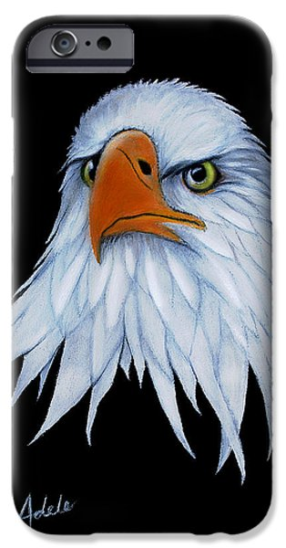 Pride Paintings iPhone Cases - Sam iPhone Case by Adele Moscaritolo