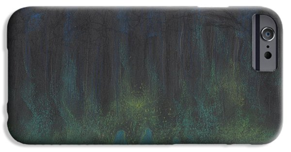 Jrr Pastels iPhone Cases - Samhain by jrr iPhone Case by First Star Art
