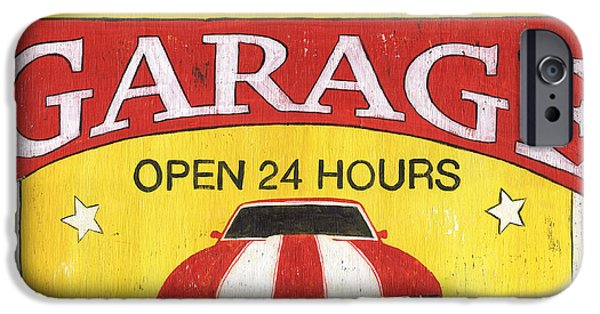 Antiques iPhone Cases - Sams Garage iPhone Case by Debbie DeWitt