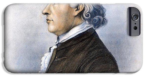 American Revolution iPhone Cases - Samuel Huntington iPhone Case by Granger