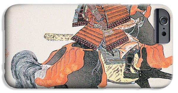 Armor iPhone Cases - Samurai iPhone Case by Japanese School