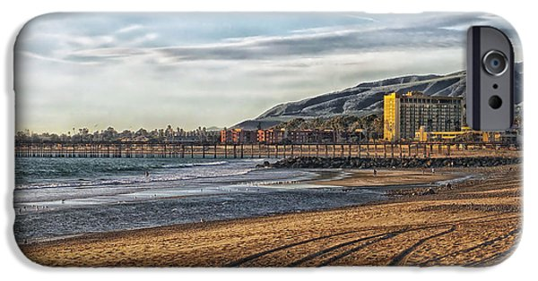 Ventura California iPhone Cases - San Buenaventura State Beach - California iPhone Case by Mountain Dreams