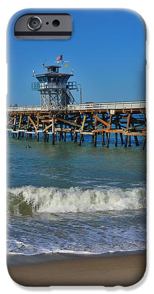 San Clemente Pier iPhone Case by Tommy Anderson