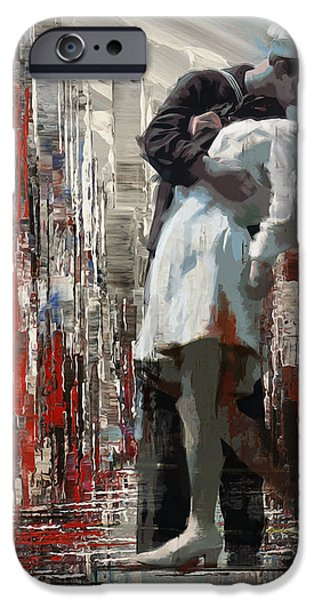 San Diego City Collage iPhone Case by Corporate Art Task Force