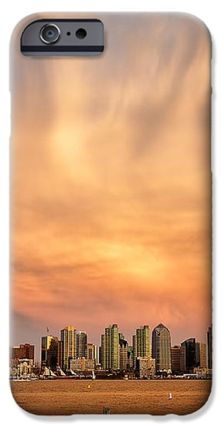 San Diego Cloud Burst iPhone Case by Peter Tellone