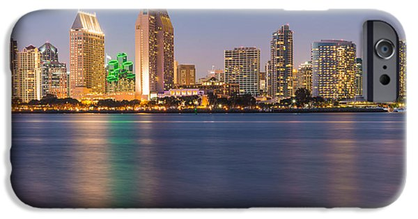 California iPhone Cases - San Diego From Coronado Island iPhone Case by Duane Miller