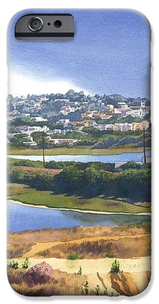 San Elijo and Manchester Ave iPhone Case by Mary Helmreich