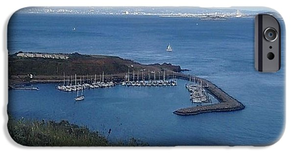 Sausalito Ca iPhone Cases - San Francisco Bay iPhone Case by Christy Gendalia