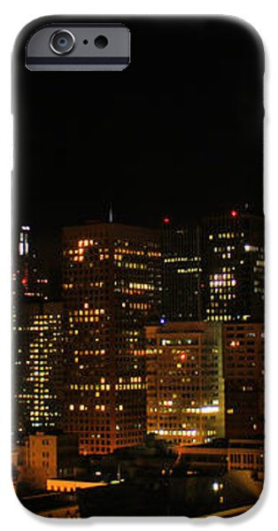 San Francisco by night iPhone Case by Cedric Darrigrand