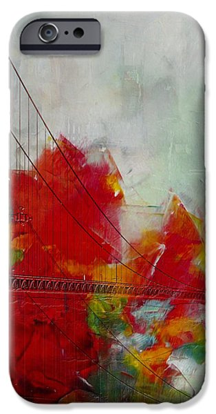 San Francisco City Collage iPhone Case by Corporate Art Task Force
