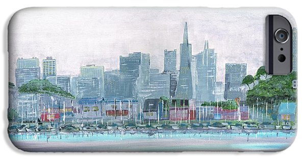 Recently Sold -  - Sausalito iPhone Cases - San Francisco From Sausalito iPhone Case by Harlan Gilbert