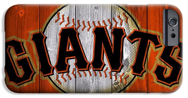 Pitcher iPhone Cases - San Francisco Giants Barn Door iPhone Case by Dan Sproul