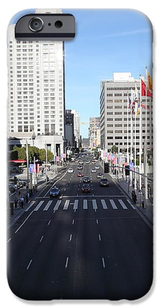 San Francisco Moscone Center and Skyline - 5D20513 iPhone Case by Wingsdomain Art and Photography