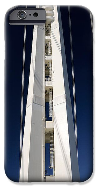 Oakland Bay Bridge iPhone Cases - San Francisco-oakland Bay Bridge, San iPhone Case by Panoramic Images
