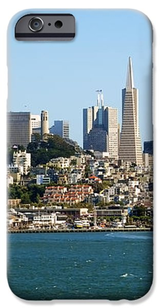 San Francisco Skyline iPhone Case by Kelley King