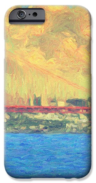 San Francisco iPhone Case by Taylan Soyturk