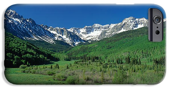 Meadow Photographs iPhone Cases - San Juan Mountains Co Usa iPhone Case by Panoramic Images