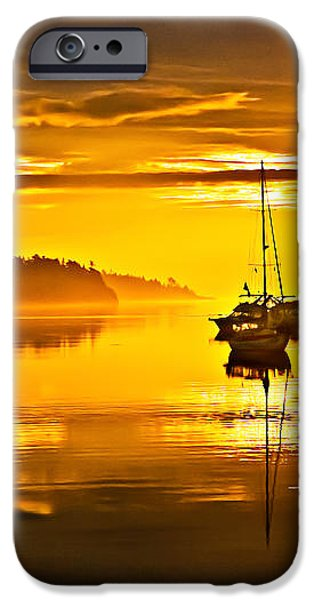 San Juan Sunrise iPhone Case by Robert Bales
