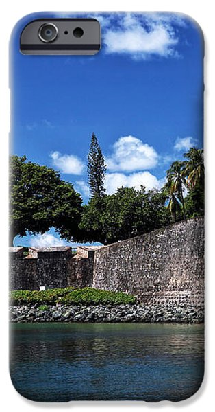 San Juan Wall iPhone Case by John Rizzuto