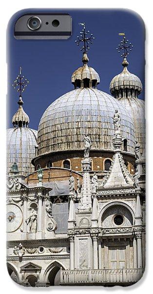 San Marco Basilica. iPhone Case by Fernando Barozza