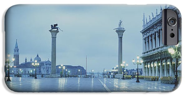 Slick iPhone Cases - San Marco Square Veneto Venice Italy iPhone Case by Panoramic Images