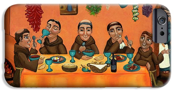 Chef iPhone Cases - San Pascuals Table iPhone Case by Victoria De Almeida
