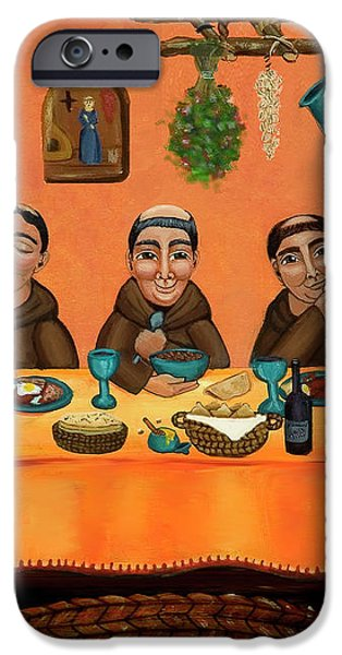 San Pascuals Table iPhone Case by Victoria De Almeida