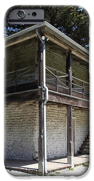 Sanchez Adobe Pacifica California 5D22642 iPhone Case by Wingsdomain Art and Photography