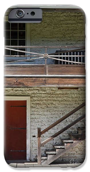 Sanchez Adobe Pacifica California 5D22657 iPhone Case by Wingsdomain Art and Photography