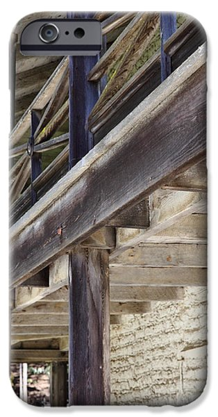 Sanchez Adobe Pacifica California 5D22658 iPhone Case by Wingsdomain Art and Photography