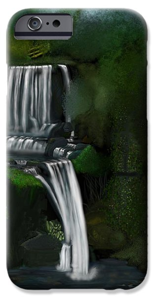Overhang Digital iPhone Cases - Sanctuary One iPhone Case by Douglas Day Jones