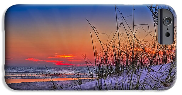 Gulf Shores iPhone Cases - Sand and Sea iPhone Case by Marvin Spates
