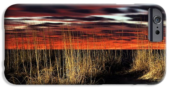 Fl iPhone Cases - Sand Dune Sunrise iPhone Case by JC Findley
