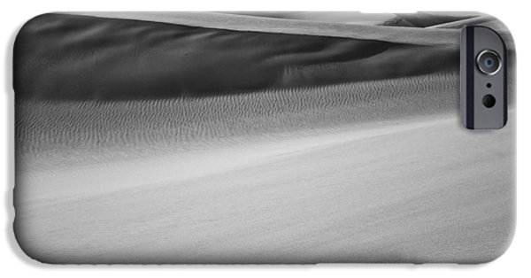 Unique View iPhone Cases - Sand Dunes Abstract iPhone Case by Aaron Spong