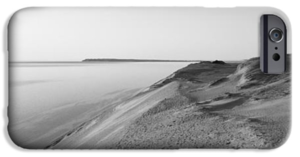 Sand Dunes iPhone Cases - Sand Dunes At The Lakeside, Sleeping iPhone Case by Panoramic Images
