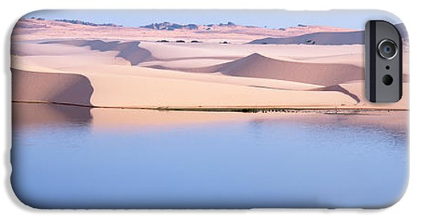 Sand Dunes iPhone Cases - Sand Dunes At The Seaside, Mui Ne iPhone Case by Panoramic Images