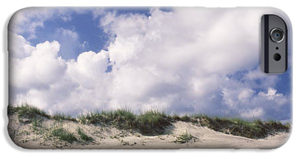 Sand Dunes iPhone Cases - Sand Dunes, Cape Hatteras National iPhone Case by Panoramic Images