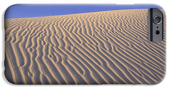 Sand Dunes iPhone Cases - Sand Dunes Death Valley National Park iPhone Case by Panoramic Images