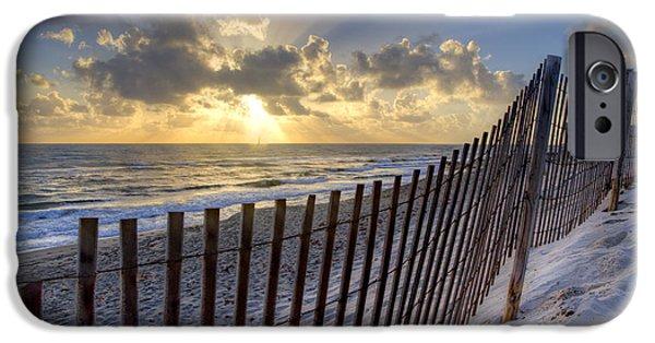 Sanddunes iPhone Cases - Sand Dunes   iPhone Case by Debra and Dave Vanderlaan
