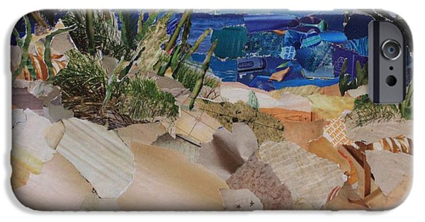 Sand Dunes Mixed Media iPhone Cases - Sand Dunes iPhone Case by Morgan Chatman