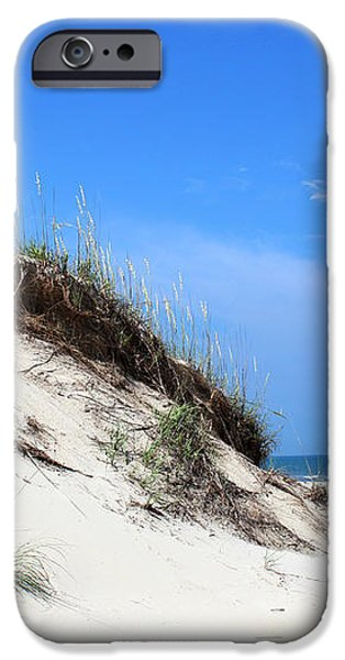Sand Dunes of Corolla Outer Banks OBX iPhone Case by Design Turnpike