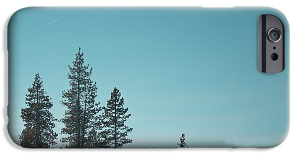 Winter Scene iPhone Cases - Sand Harbor-Lake Tahoe iPhone Case by Kim Hojnacki