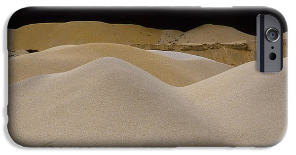 Moonscape iPhone Cases - Sand Points iPhone Case by Chuck Harris