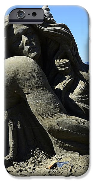 Sand Sculpture 1 iPhone Case by Bob Christopher