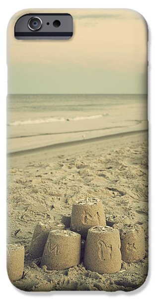 Sandcastle iPhone Cases - Sandcastle - Vintage iPhone Case by Terry DeLuco