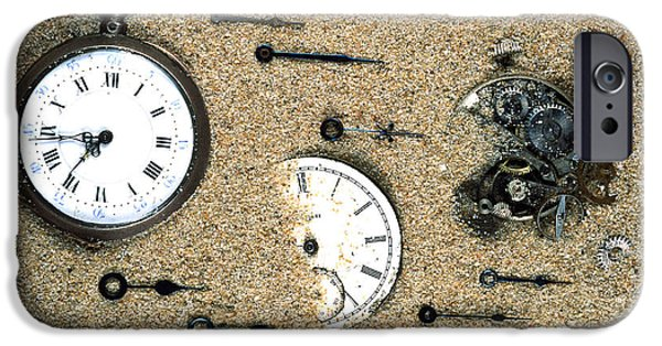 Watch Parts iPhone Cases - Sands Of Time iPhone Case by Gregory G. Dimijian