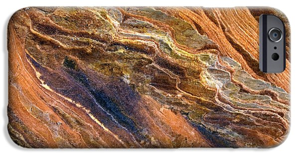 Sandstone iPhone Cases - Sandstone Tapestry iPhone Case by Mike  Dawson