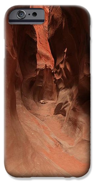 Sandstone Twists And Turns iPhone Case by Adam Jewell